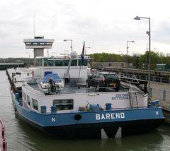 BAREND auf dem Rhein unterwegs