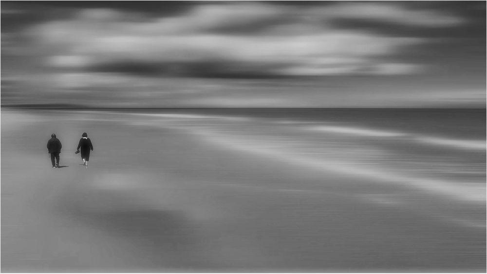 barfuß durch den Sand.....