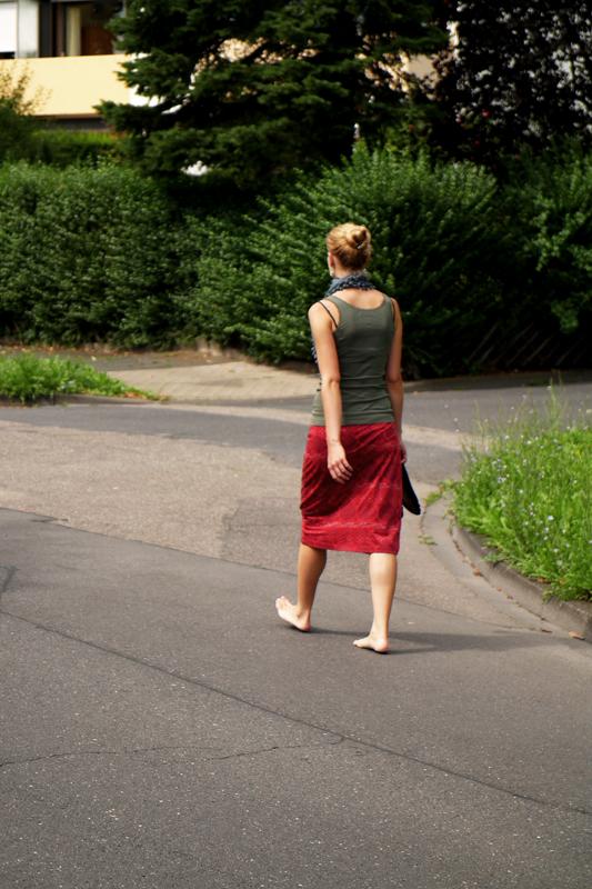 Barfuß Durch Den Sommer Foto Bild Streetfotografie