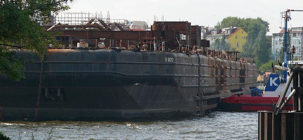 Barge S-600 - hochseetüchtiger Ponton