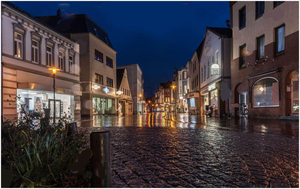 Barmstedt im Regen
