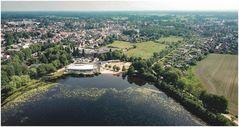 Barmstedt mit dem Rantzauer See