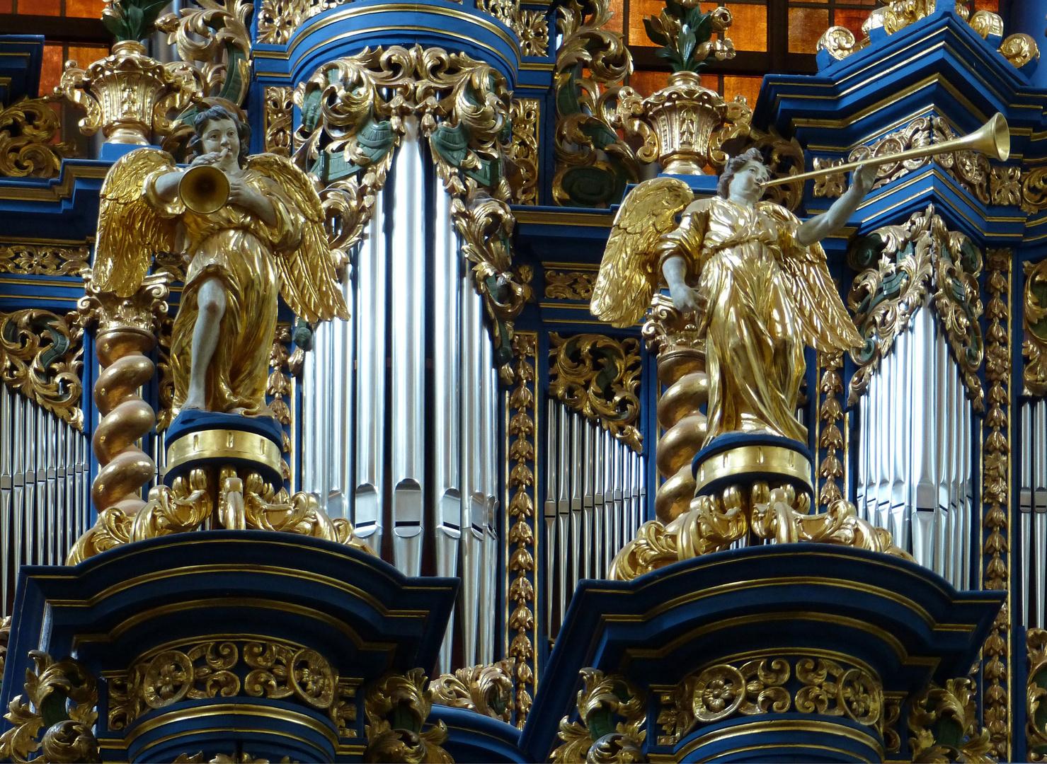 Barock-Orgel (1719 - 1721). Heiligelinde (Swieta Lipka), Polen 2015
