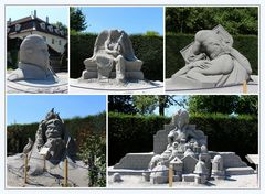 """Barock"",  Sand - Kunst"