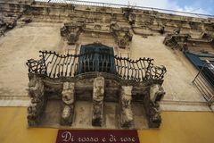 Barockbalkone in Ragusa
