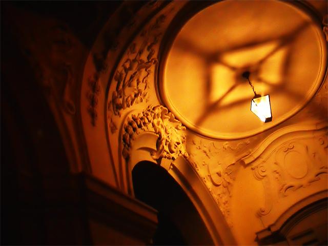 Barocke Lampe II