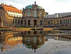 Barocke Schönheit im Spiegel II