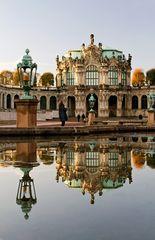 Barocke Schönheit im Spiegel III