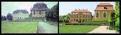 Barockgarten Großsedlitz - 1980 und jetzt