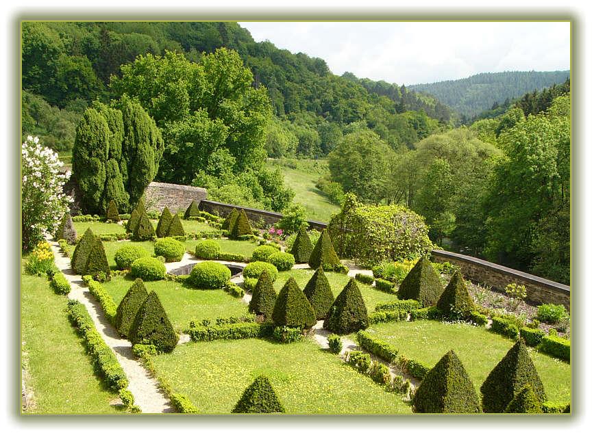 Barockgarten in der Eifel