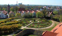 Barockgarten Schloss Delitzsch