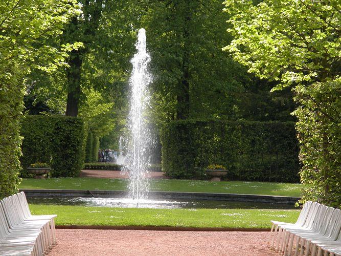 Barockgarten von Lichtenwalde ( Sachsen )