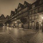 Barockhäuser in der Peterstraße Hamburg