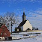 ...Barockkirche im Schnee...