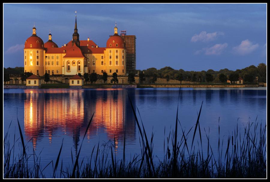 Barockschloss Moritzburg bei Dresden