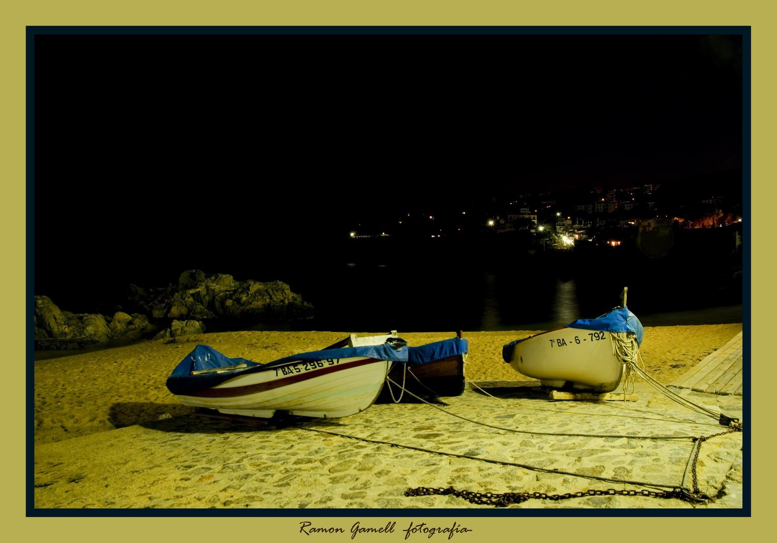 Barques a Calella