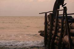 Barreras en la playa 2