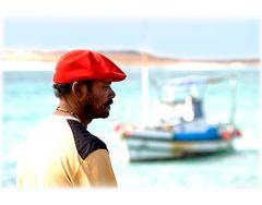 barrete vermelho