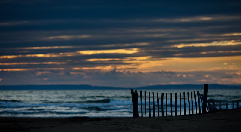 Barrière sur mer
