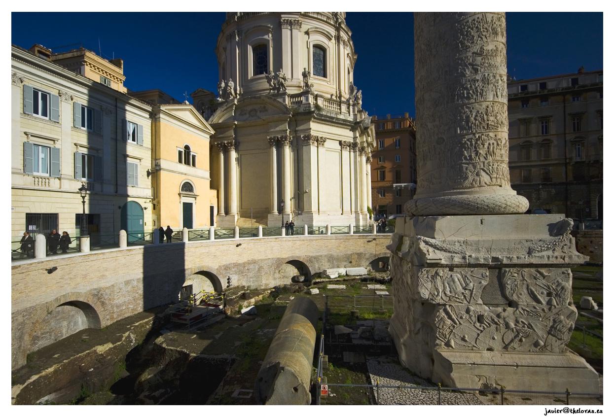 Basa de la columna trajana