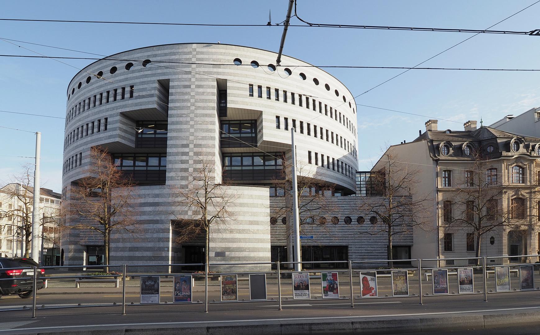 Basel Bank BIZ, Architekt Botta