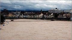 ... Basel bei Schlechtwetter ...
