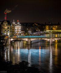 """Basel by night"""