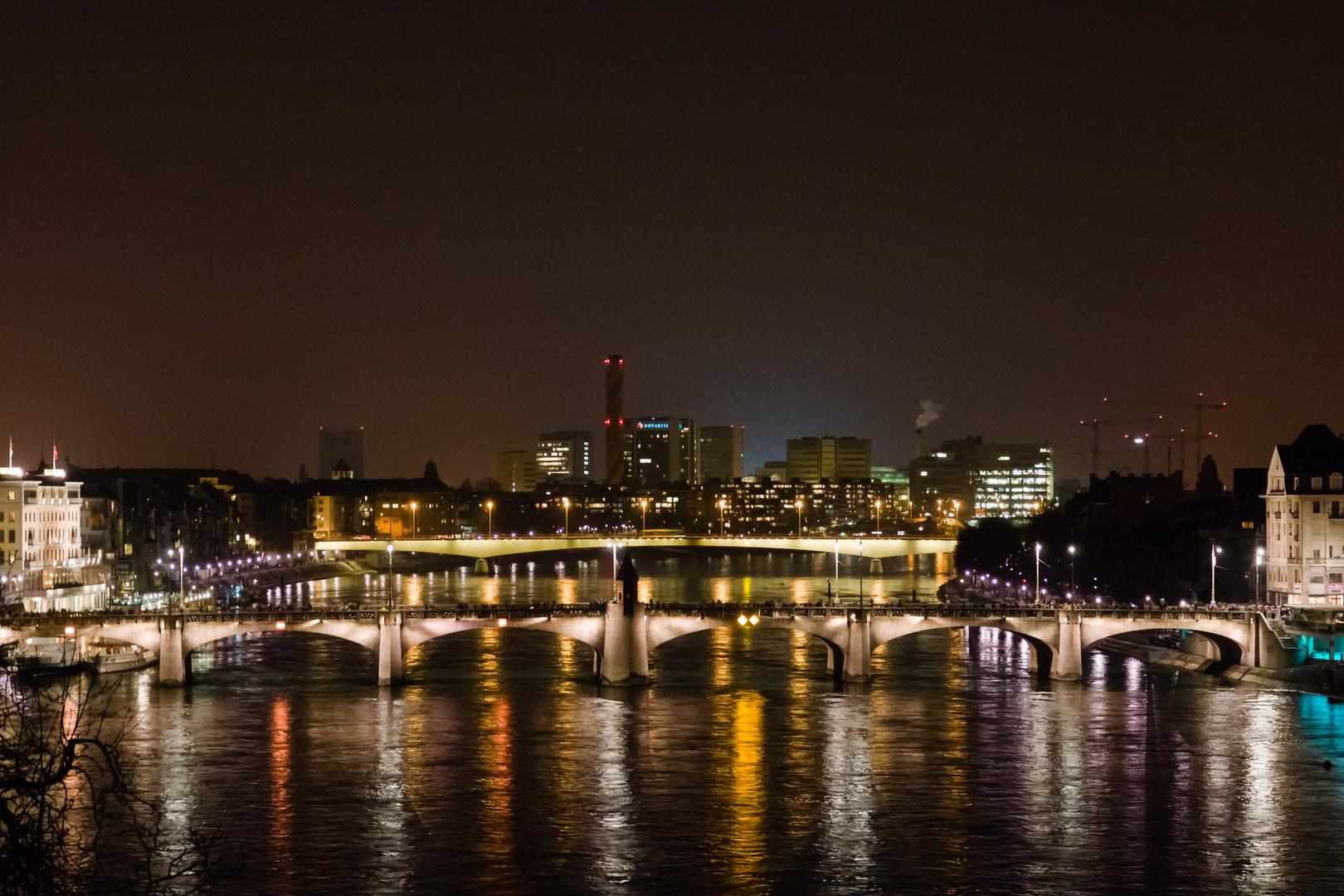 Basel by night an der Basler Fasnacht 2013