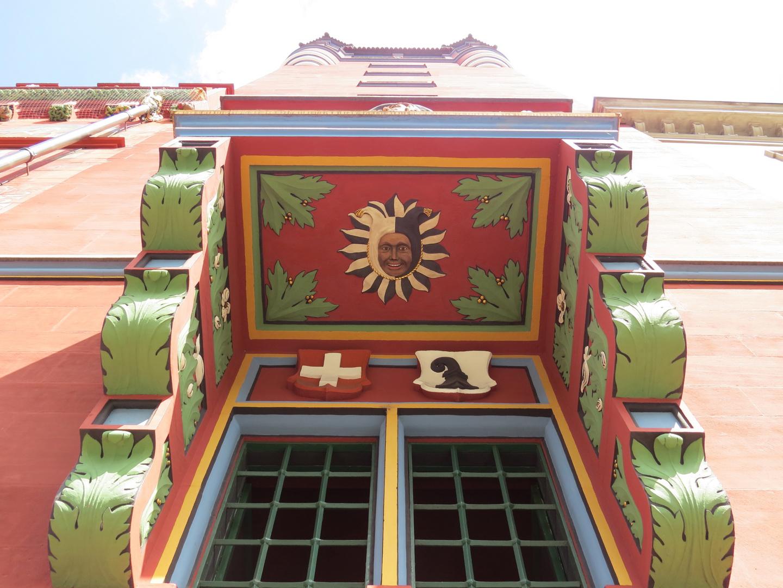Basel Rathaus kleiner Balkon