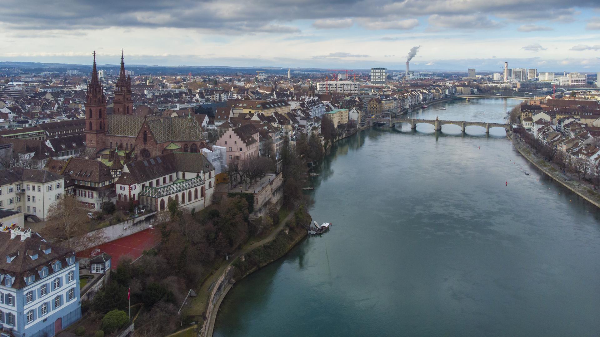 Basel Rheinknie