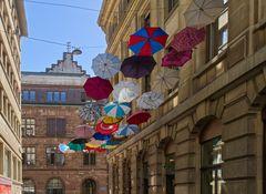 Basel Schirme in Grünpfalgasse