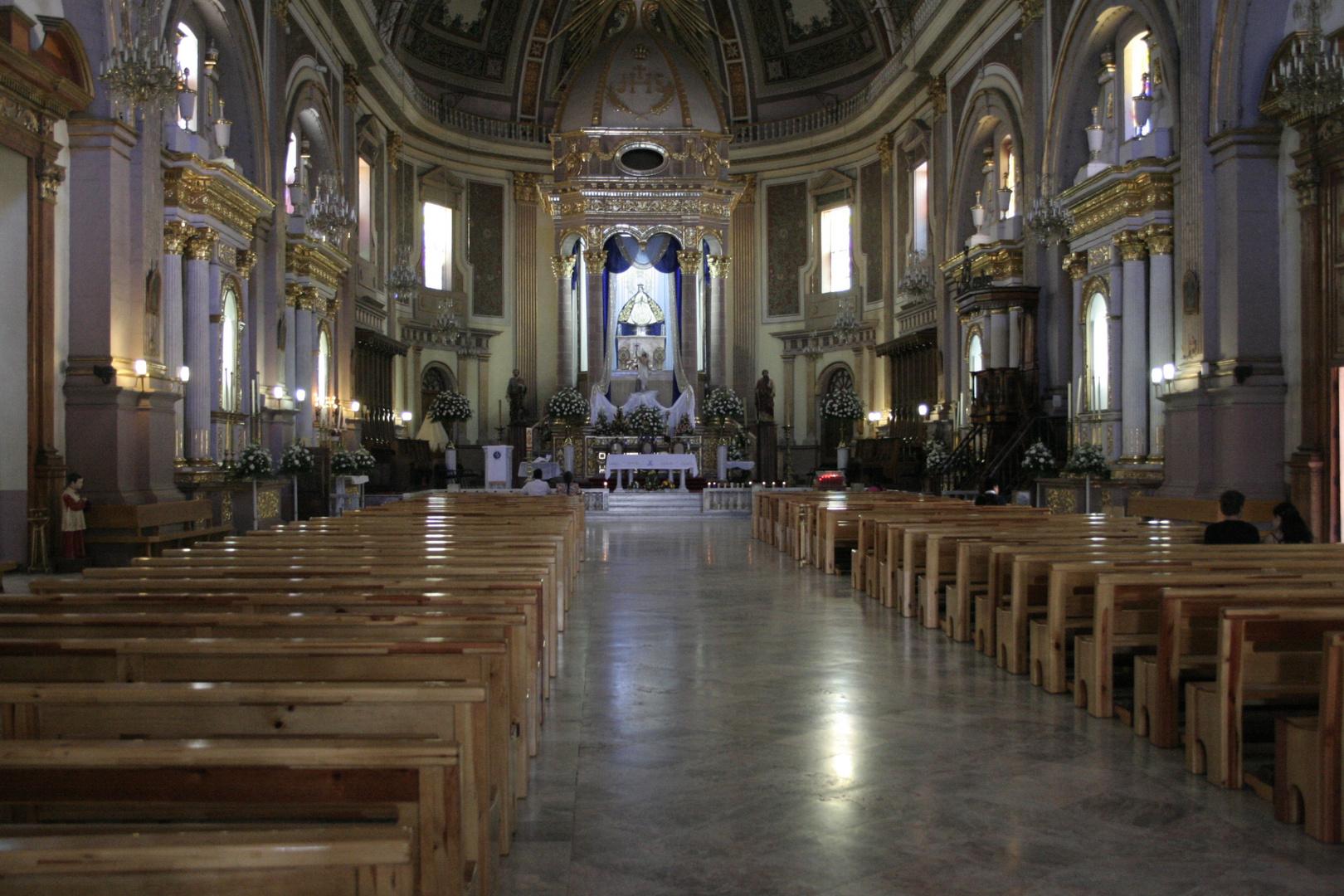 Basilica de Patzcuaro Michoacán Mexico