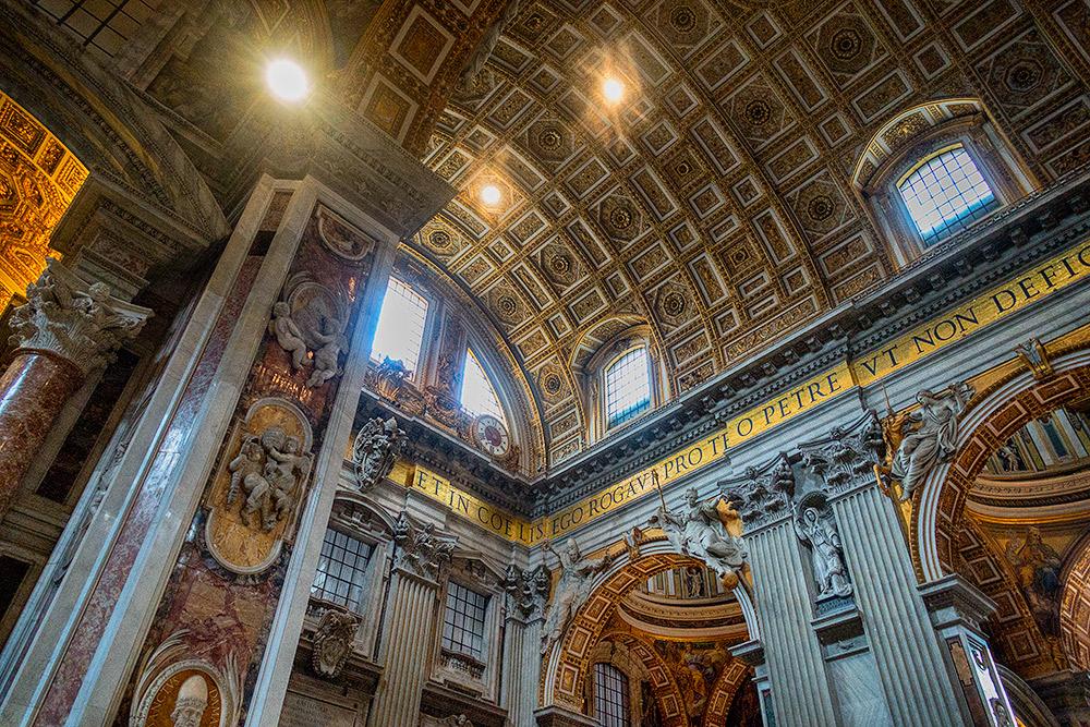 Basilica di San Pietro all'interno