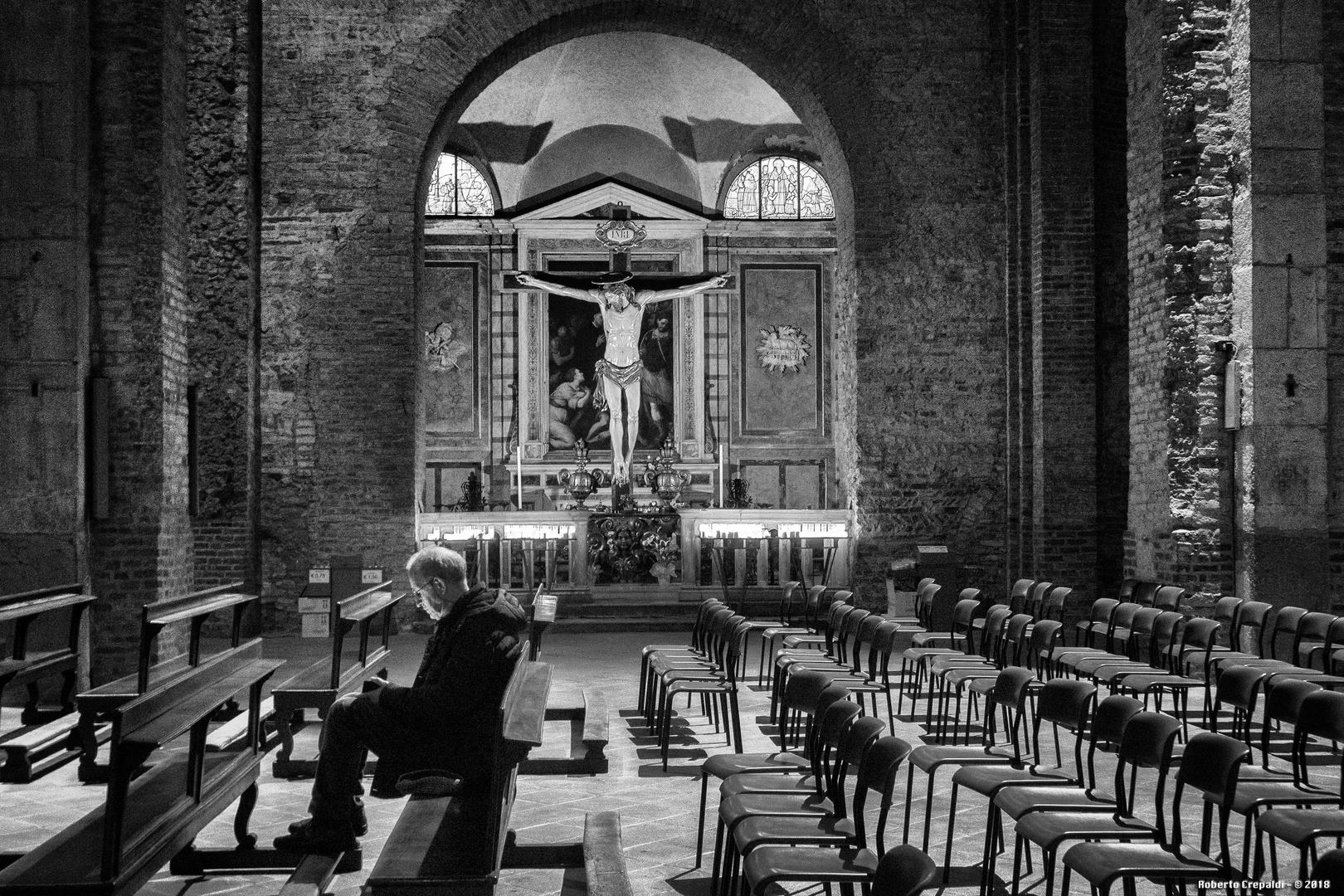 Basilica di San Simpliciano, preghiera