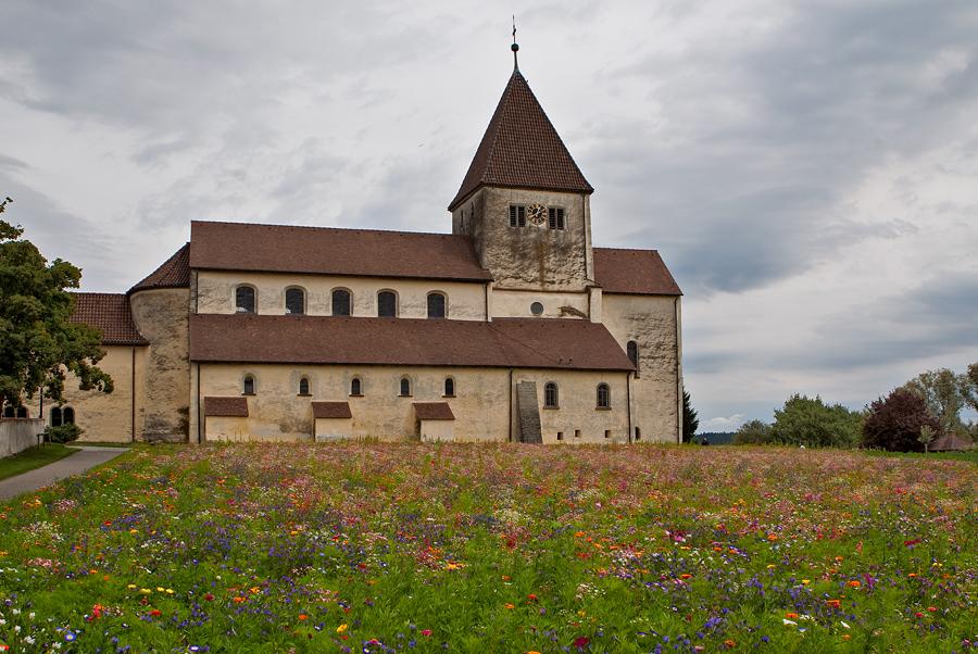 Basilika auf der Insel Reichenau