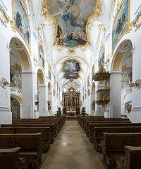 Basilika Heilig Kreuz und Mariä Himmelfahrt Scheyern Oberbayern