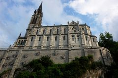 Basilika in Lourdes ( *)
