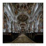 """Basilika St. Alexander und Theodor (Ottobeuren) """" Gott zu Gefallen..."""""""