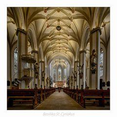 """Basilika St. Cyriakus ( Duderstadt ) """" Gott zu Gefallen... """""""