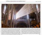 Basilika St. Jakob Straubing Strahlengang Westfenster