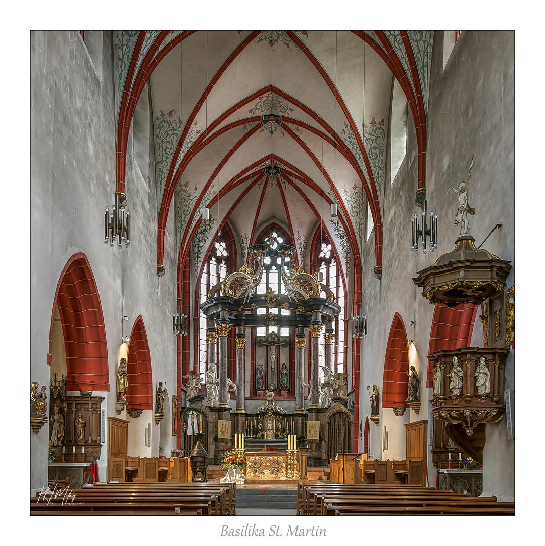 "Basilika St. Martin - Bingen a Rhein "" Gott zu Gefallen.... """