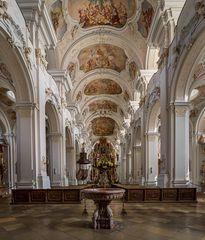 """Basilika St. Mauritius in Niederalteich """"Blick nach Osten"""""""