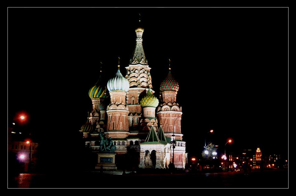Basilius Kathedrale auf dem roten Platz