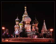 Basilius-Kathedrale in Moskau...