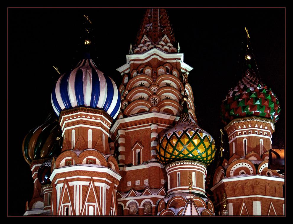 Basilius-Kathedrale - Moskau