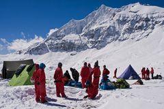 Basislager Thapa Peak