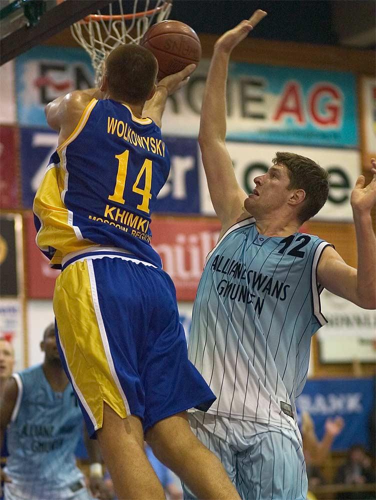 Basket Swans Gmunden vs. Moskau