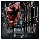 basler Altstadt -schweizer Flagge