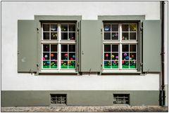 Basler Fenster - Frühlingsboten