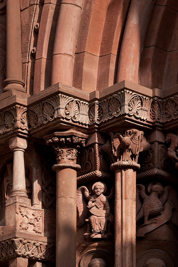 Basler Münster - Detail